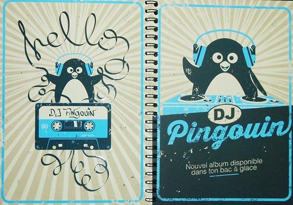 Carnet DJ Pingouin